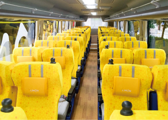 Limon バス 座席